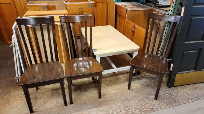 """Wooden Dining Table Chairs 40""""x18"""""""