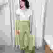 Hadid Pant, Silk Noil in Palomino
