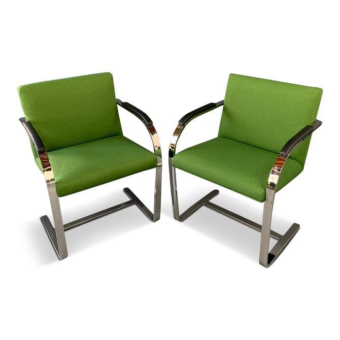 Brno Armchair with Chrome Frame, Knoll A Mid Century Masterpiece