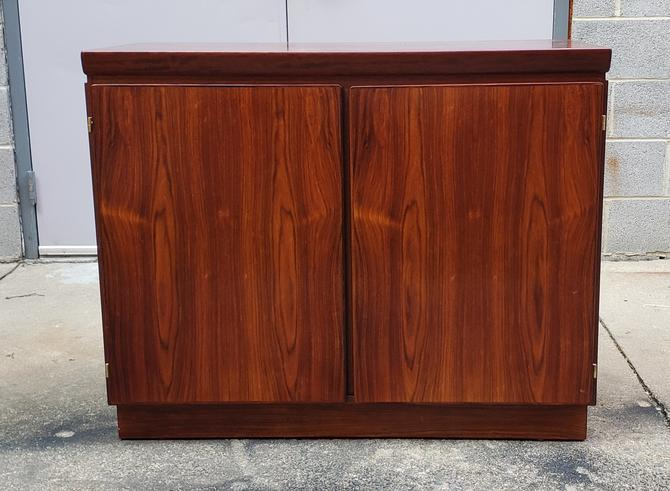 Rosewood Danish Modern Sideboard Bar by Skovby