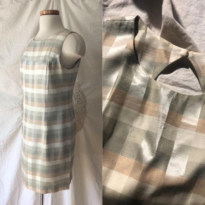 gingham mini dress by DiscoLaundryVintage