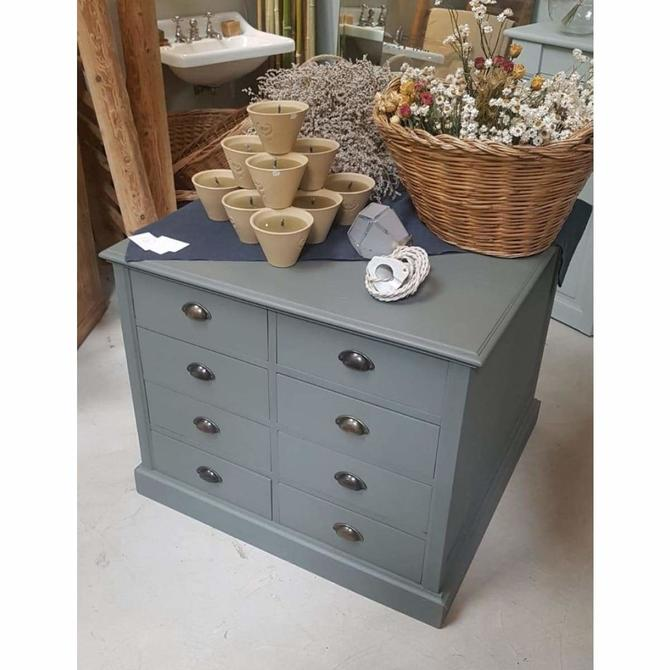 Vintage Double Sided Drawer Chest