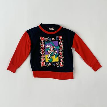 1990's Dinosaur Football Kiddo Sweatshirt