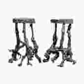 Pair of French Grape Vine Cocktail Tables