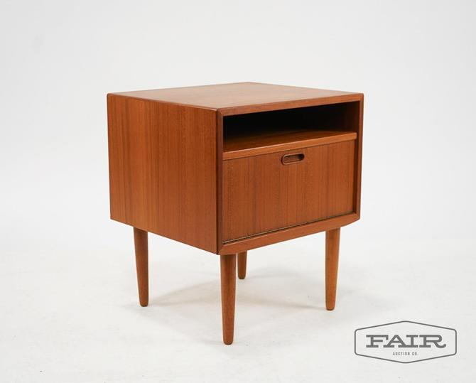 Falster Danish Wood Side Table