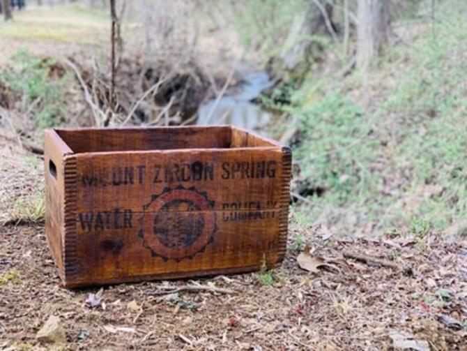 Vintage Storage, Antique Box, Vintage Advertising