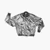 Vintage Bomber Jacket, 80's Clothing, Metallic Jacket, Athletic Jacket, Streetwear, 80s, Hipster, Vintage Clothing, Notations, Metallic Coat by DakodaCo
