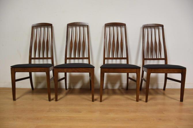 Keller Black Vinyl Dining Chairs- Set of 4 by mixedmodern1