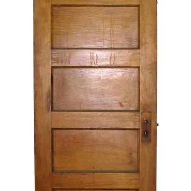 Vintage 5 Pane Wood Passage Door 83.375 x 29.875