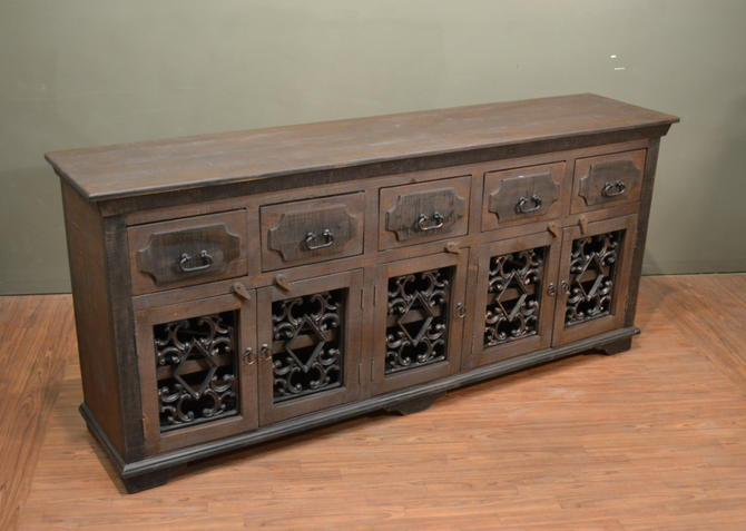 Rustic Solid Wood Sideboard / Media Console / Multi Purpose Cabinet by RusticShop1