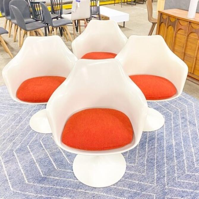 Set of 4 Knoll Tulip Armchairs
