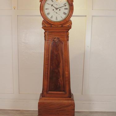 19th Century Scottish Drum Clock