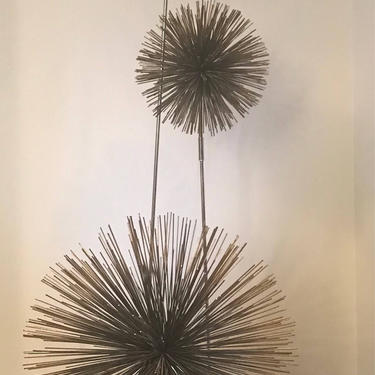 Curtis Jere Pom / Urchin Mid Century Modern Floor Lamp Sculpture - mcm - 2 available by ModernHill