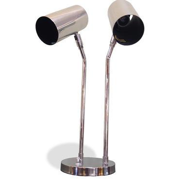 Koch + Lowy Chrome Desk Lamp