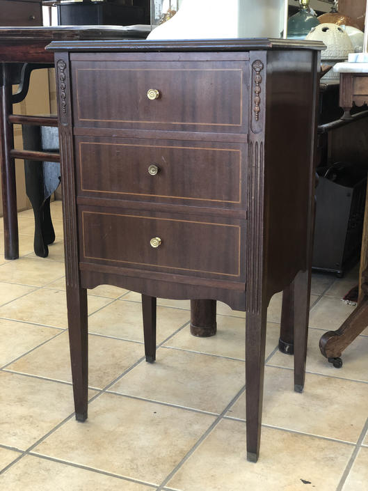 Vintage Sheet Music Cabinet Table Stand by BigWhaleConsignment