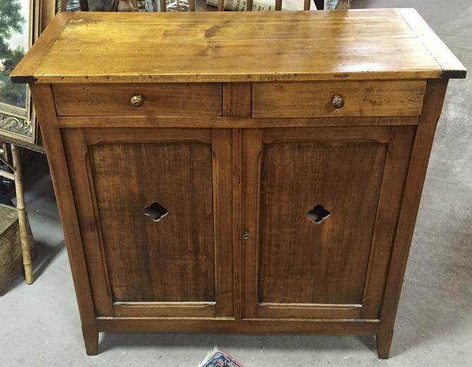 Antique Primitive American Double Jelly Cupboard/ Cabinet/Pie Safe