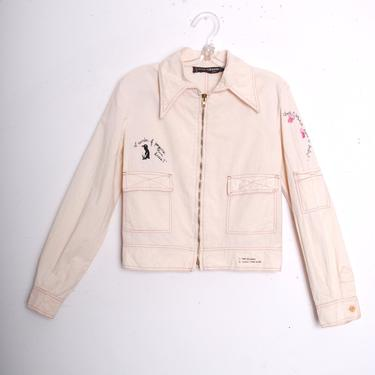 1970s Embroidered Paco Rabanne Dagger Collar Jacket (Small) by 40KorLess