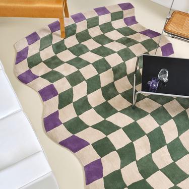 Giglio - Insalata Check Wool Rug