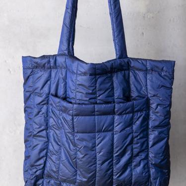 Blue Puffer Bag