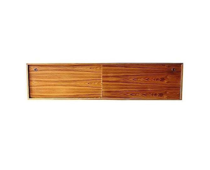 Custom Floating Teak Credenza by minthome