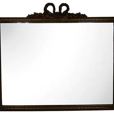 Louis XVI-Style Giltwood Mirror, French Gold Mirror by BostonVintageStudio