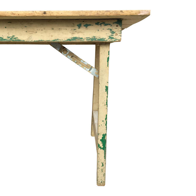 Vintage Folding Farm Table