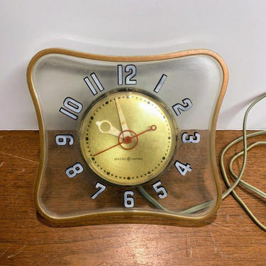 Vintage Mid Century Modern General Electric U.S. Mail Post Office Clock GE 2H100 by OverTheYearsFinds