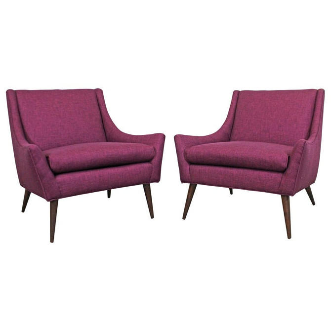 Pair of Mid-Century Danish Modern Paul McCobb Style Lounge Chairs by AnnexMarketplace