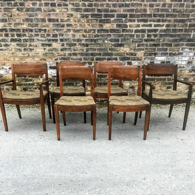 Mid Century Milo Baughman for Drexel Perspective Dining Chairs