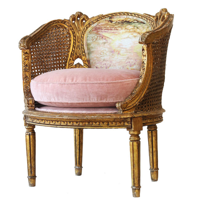 The Crown french upholstered chair by WildChairy