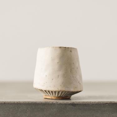 Ayame Bullock Cream Teacup