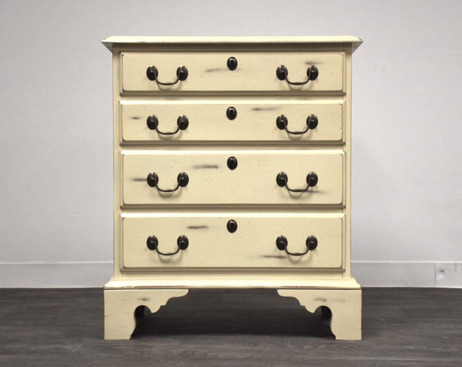 White Shabby Chic Dresser by Harden Furniture by mixedmodern1