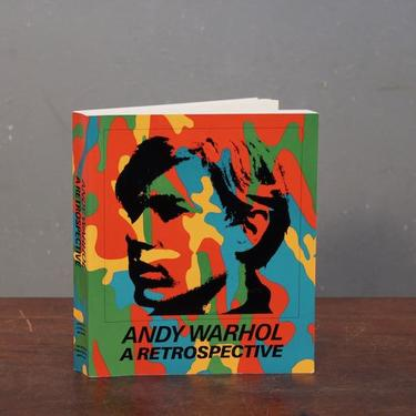 """""""Andy Warhol: A Retrospective"""" 1st Edition Book"""