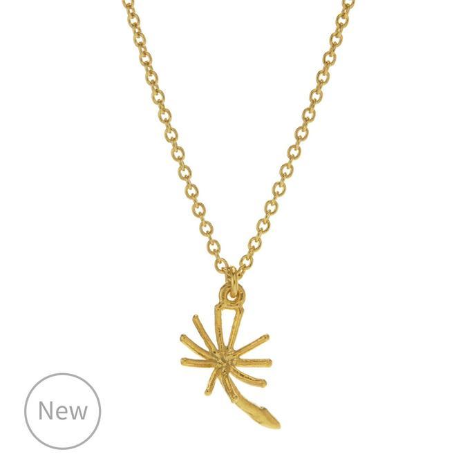 Dandelion Fluff Necklace