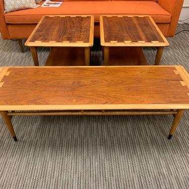 Vintage Lane Coffee Table & Pair of Side Tables – Purchase As Set or Separately