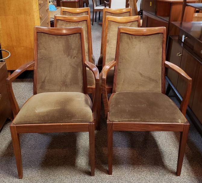 "Item #MA39 Set of Six ""G-Plan"" Teak Dining Chairs c.1960"