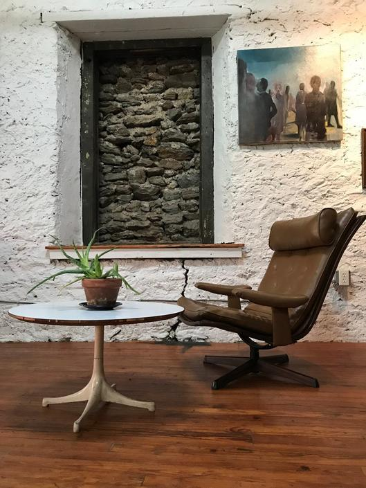 Mid century lounge chair mid century Swedish lounge chair mid century modern rosewood lounge chair by VintaDelphia