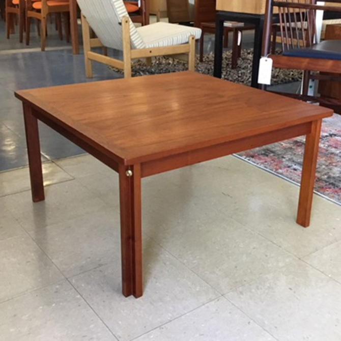 HA-19019 Square Danish Teak Coffee Table