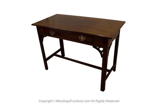 Kittinger Colonial Williamsburg Mahogany Console Traditional Table Desk by Marykaysfurniture