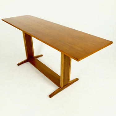 Trestle Base Console Table