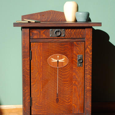 Dragonfly Nightstand by CaledoniaStudios