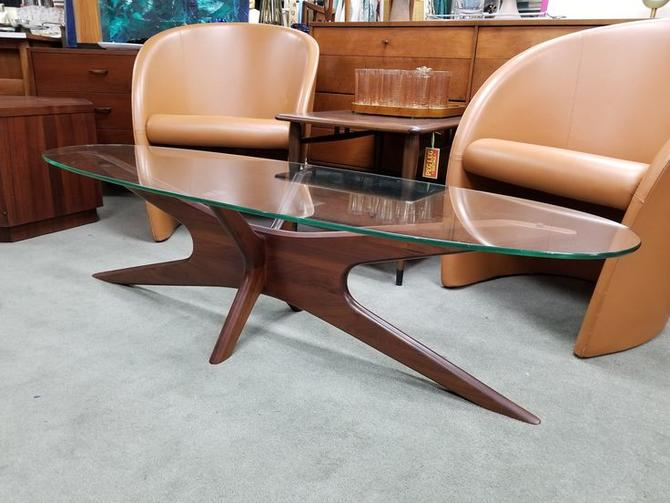 Mid-Century Modern walnut coffee table by Adrian Pearsall