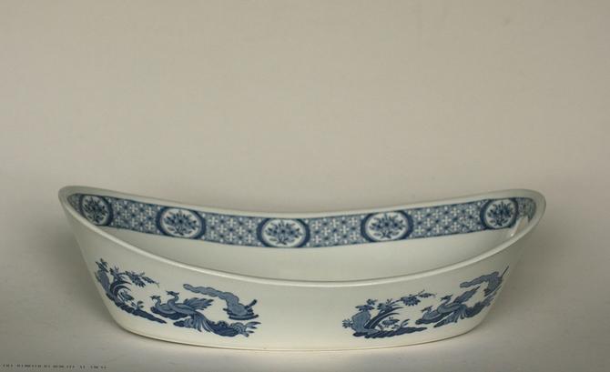 vintage Furnivals Old Chelsea oval serving bowl by suesuegonzalas