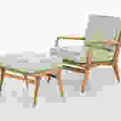 Carlo di Carli Lounge Chair + Ottoman by MatthewRachman