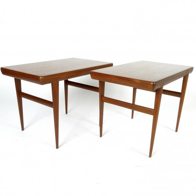Johannes Andersen Teak Side Tables