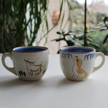 Stangl Playful pups mug x2 by FancyHaus