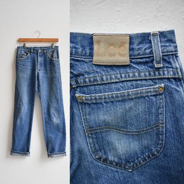 Vintage Dark Wash Lee Jeans by milkandice