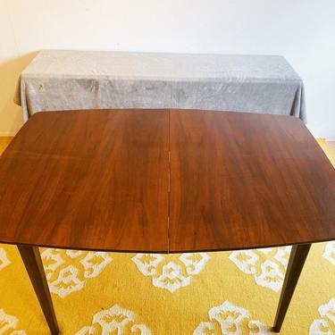 Broyhill Brasilia Expandable Walnut Dining Table, Mid Century Modern Dining Table, MCM Furninture, MCM Kithcen by VivaLaVintagedotTX