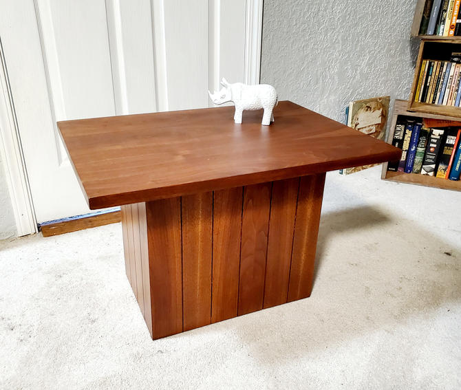 Mid Century Coffee Table or End Table by OrWaDesigns
