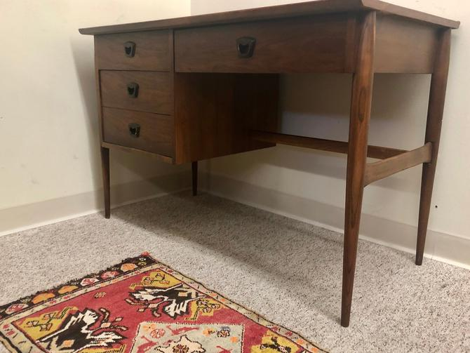 Danish Mid Century Modern Desk by BigWhaleConsignment